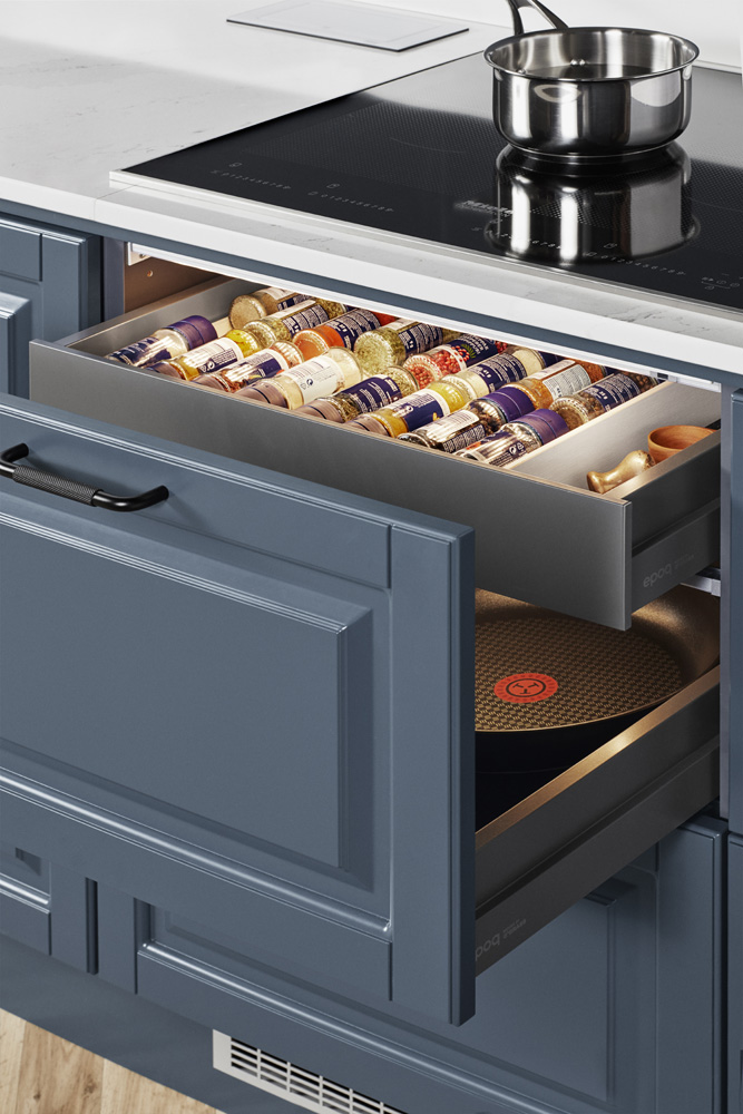 Heritage Blue Grey K4B Drawer detail 00305 1